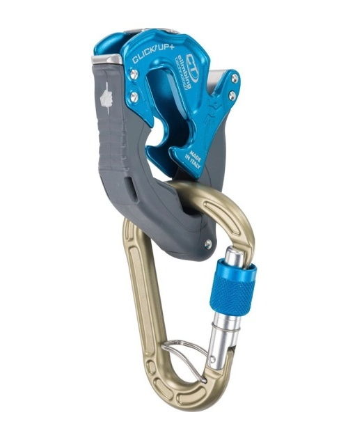 brzda Climbing Technology CLICK UP KIT PLUS blue