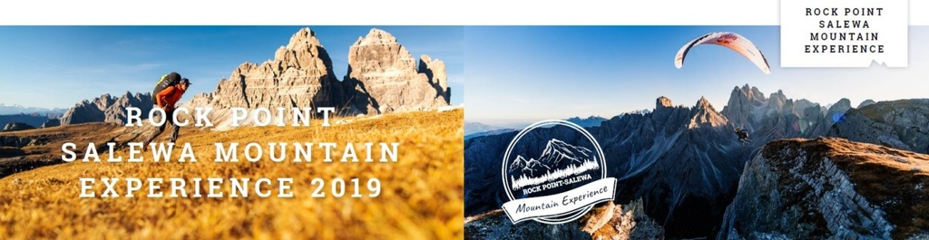 Rock Point Salewa Mountain Experience 2019