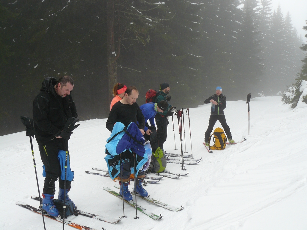 Rock Point Skialp Academy - Kraličák leden 2018