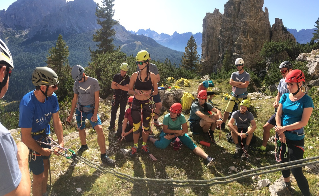 Na Rock Point Salewa Alpine Campus 2019