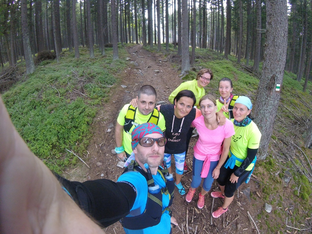 Rock Point Trailrunning Camp Šumava - Zadov, 2017
