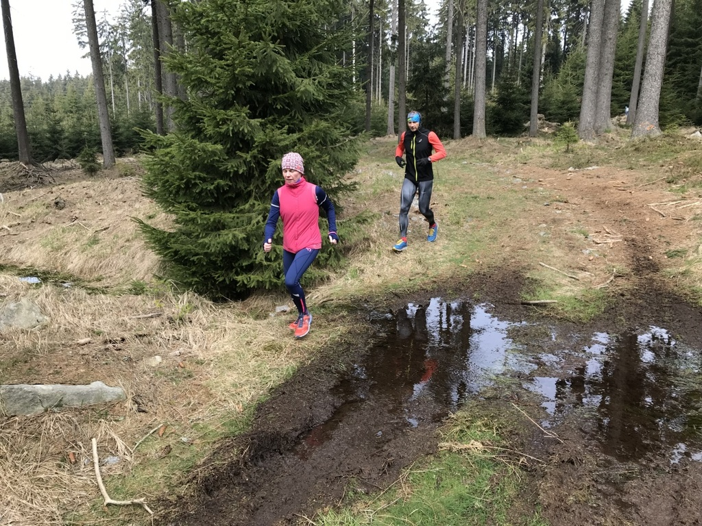 Rock Point Trailrunning kemp Vysočina 2019