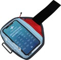 SMARTPHONE ARMBELT XL RED/LIGHT BLUE