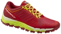 crimson/fluo yellow